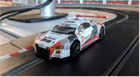 New Scaleauto Audi R8 Lms Review The Digital Slot Car Association